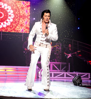 Elvis from Legends the show October 2017