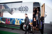 Gibson Tour bus shots with Frankie Moreno and his band CES 2015